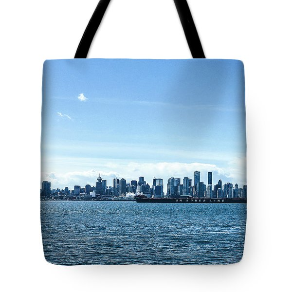 City Of Vancouver From The North Shore Tote Bag