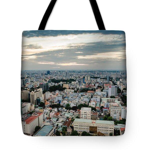 City On High Tote Bag