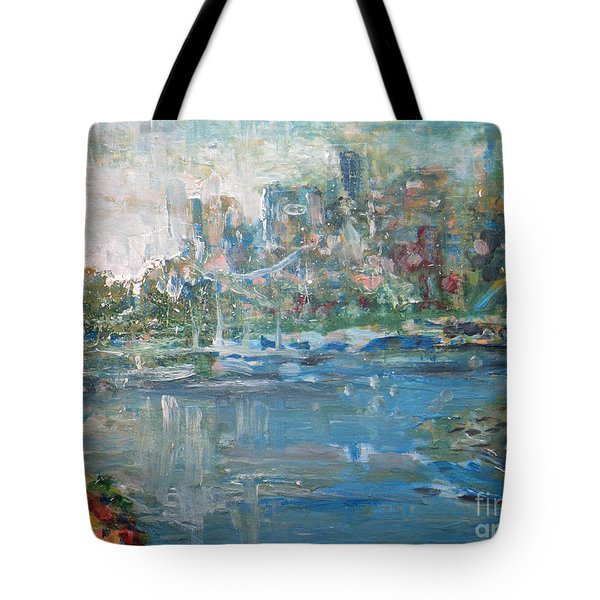 City On The Bay Tote Bag