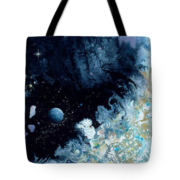 City On The Edge Of Forever Tote Bag by Lee Pantas
