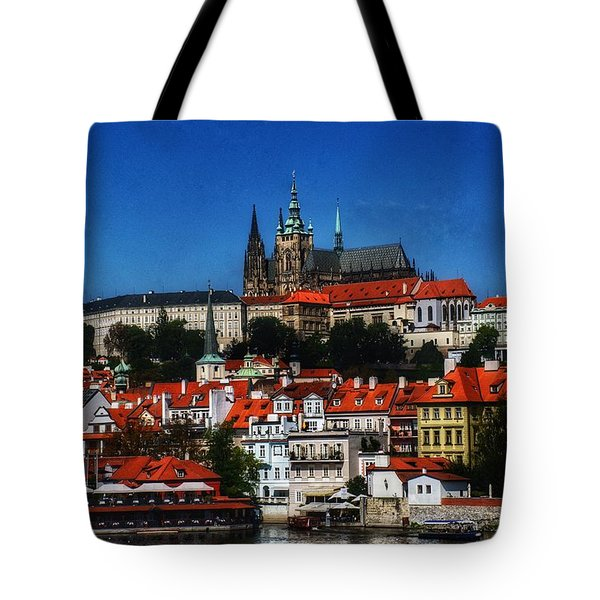 City On The River IIi Tote Bag