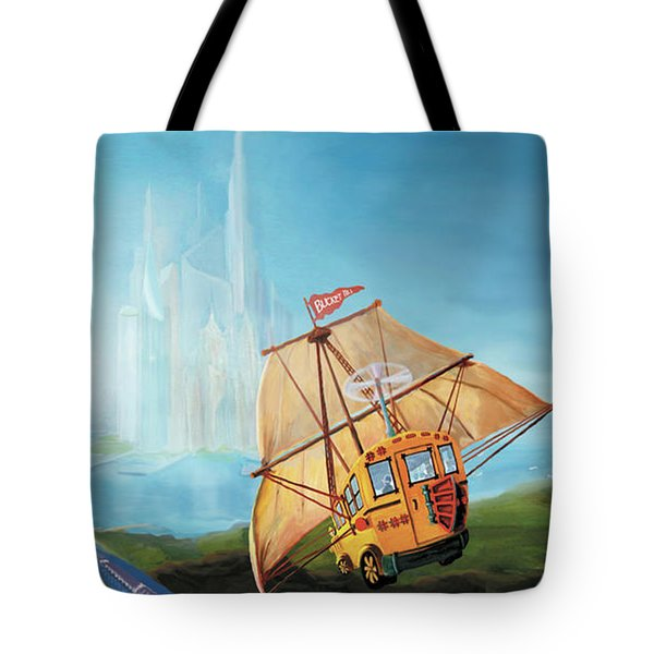 City On The Sea Tote Bag