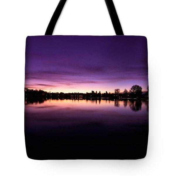 City Park Tote Bag