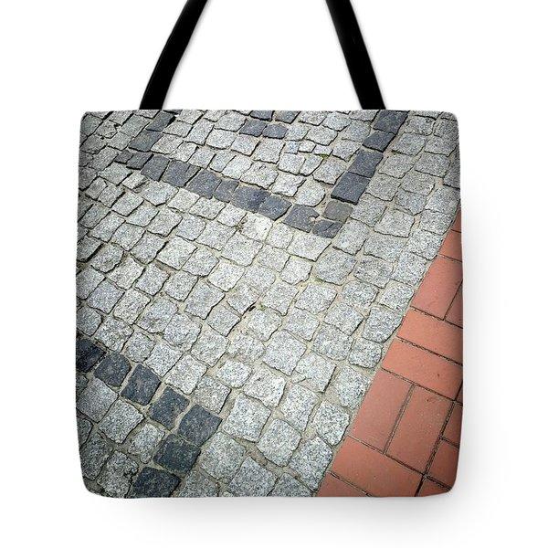 City Pavement Tote Bag
