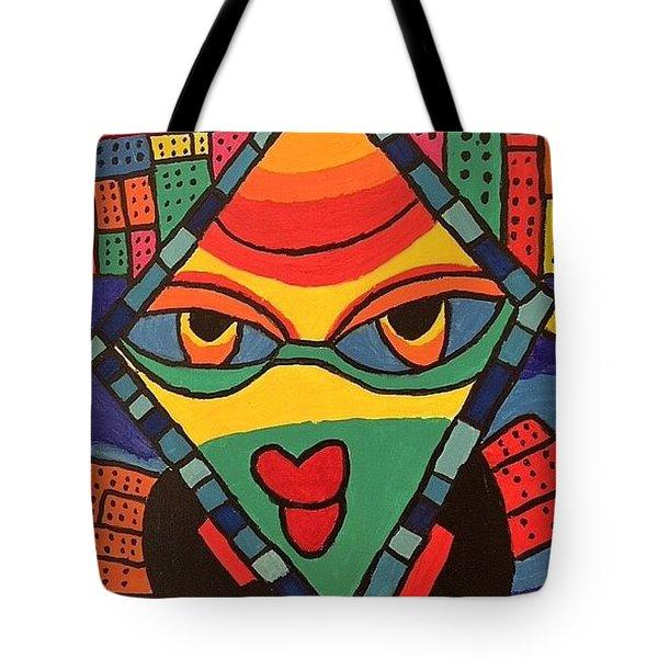 City Queen Tote Bag