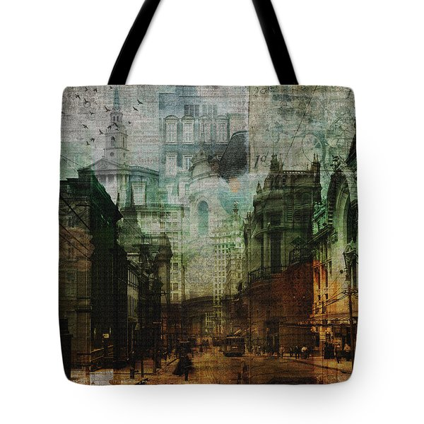 City Rising Tote Bag