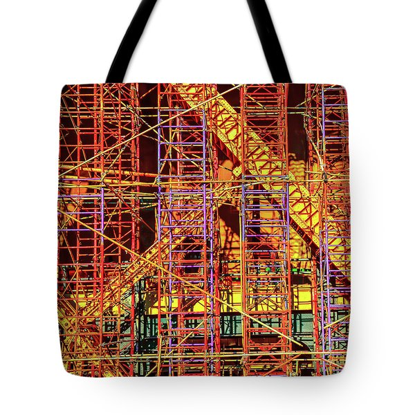City Scaffolds Tote Bag