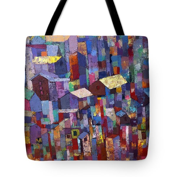 City Scape 1 Tote Bag
