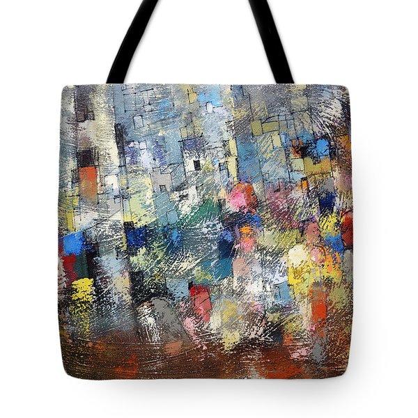 City Scape 3 Tote Bag
