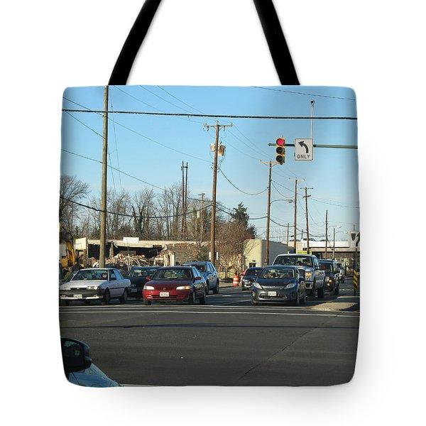 City Scene Tote Bag