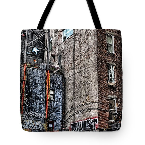 City Scenes Nyc Tote Bag by Steve Archbold