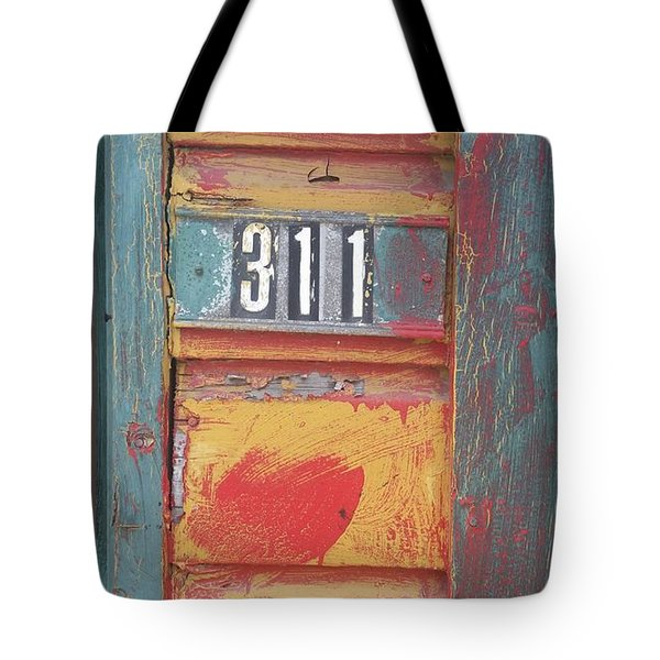 City Services Tote Bag