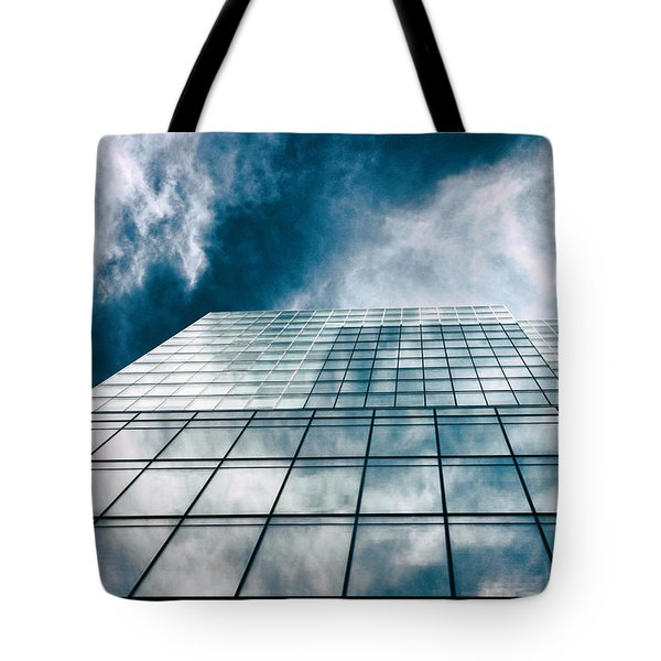 Tote Bag featuring the photograph City Sky Light by Jessica Jenney