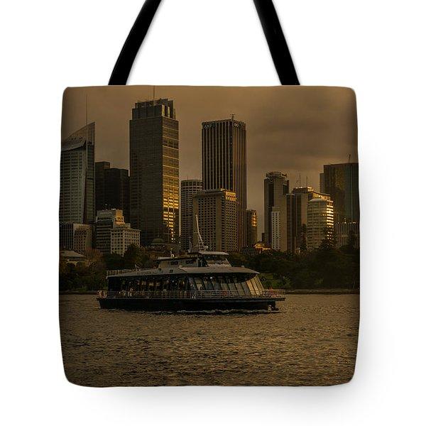 City Skyline  Tote Bag by Andrew Matwijec