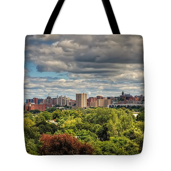 City Skyline Tote Bag by Everet Regal