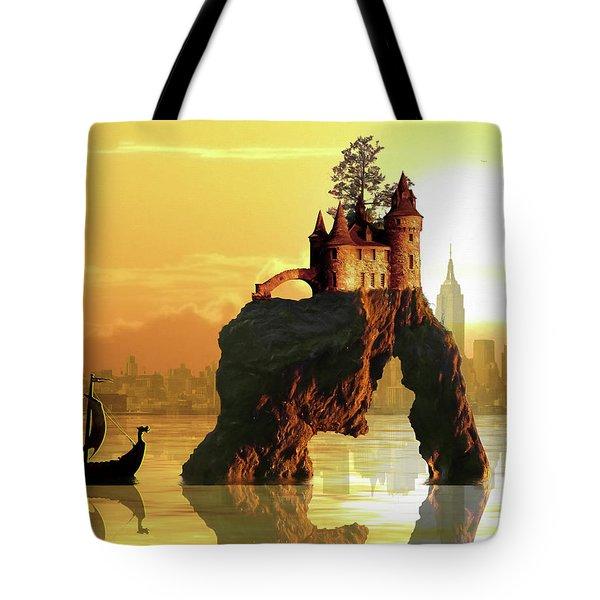 City Stack Tote Bag