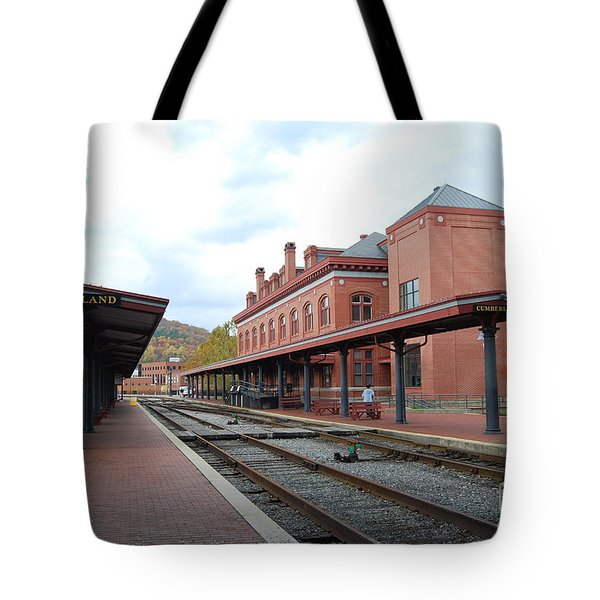 Tote Bag featuring the photograph City Station by Eric Liller