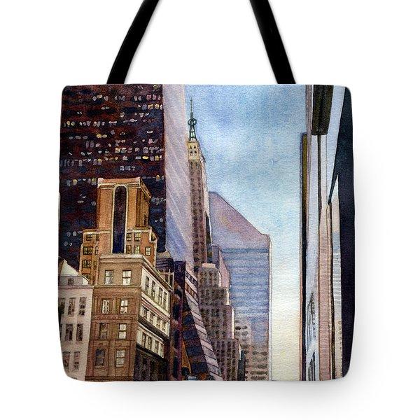 City Sunrise Tote Bag