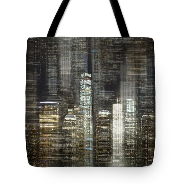 City Tetris Tote Bag