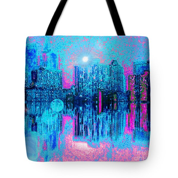City Twilight Tote Bag