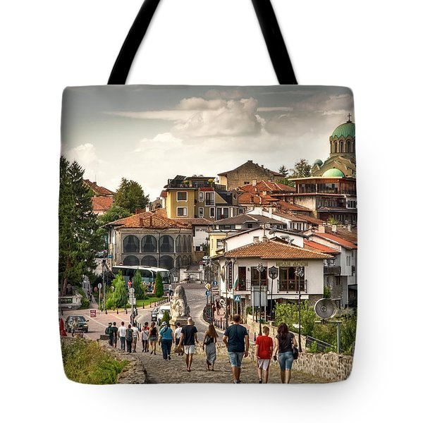 City - Veliko Tarnovo Bulgaria Europe Tote Bag
