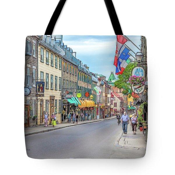 Quebec City View 7 Tote Bag