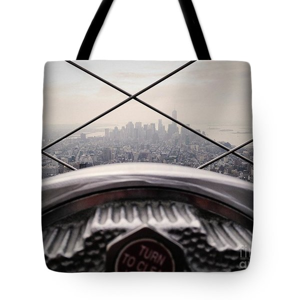 Tote Bag featuring the photograph City View by MGL Meiklejohn Graphics Licensing