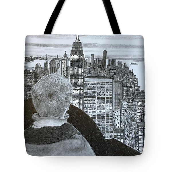 City View  Tote Bag