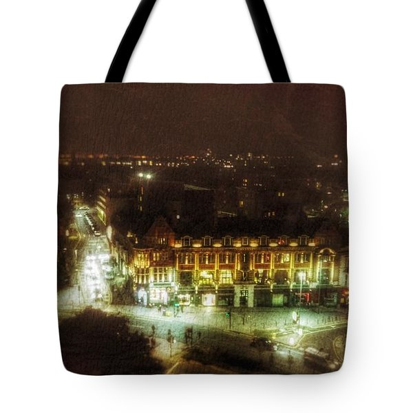 Tote Bag featuring the photograph Citylife by Isabella F Abbie Shores FRSA