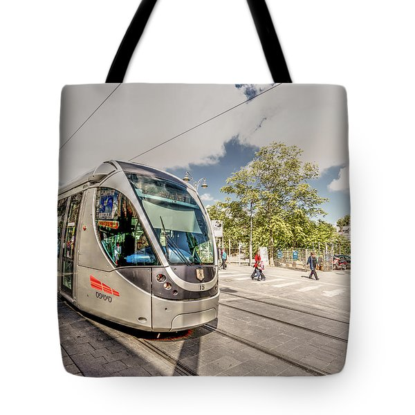 Citypass Tote Bag by Uri Baruch