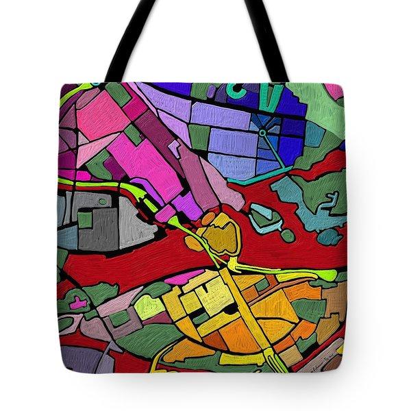Cityplan#2 Tote Bag