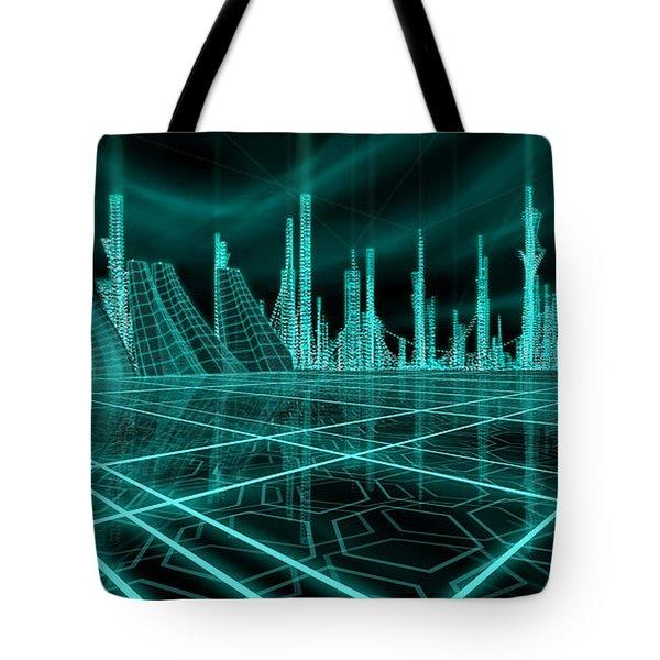 Cityscape 2010 Alpha Tote Bag