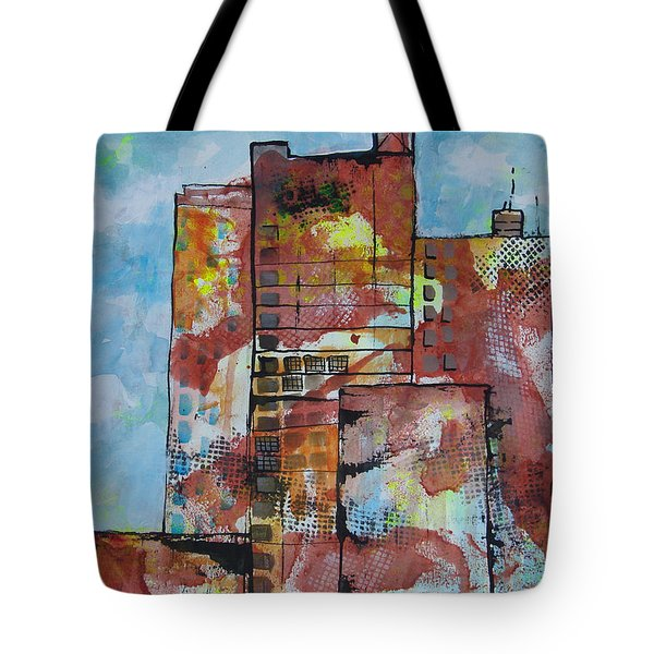 Cityscape 230 Tote Bag by Karin Husty