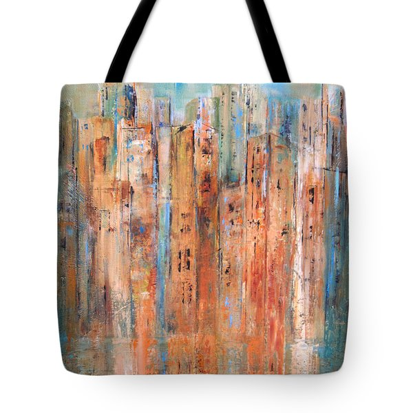 Cityscape #3 Tote Bag