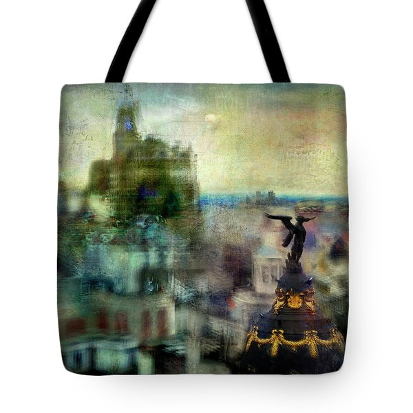 Cityscape 38 - Homeless Angels Tote Bag