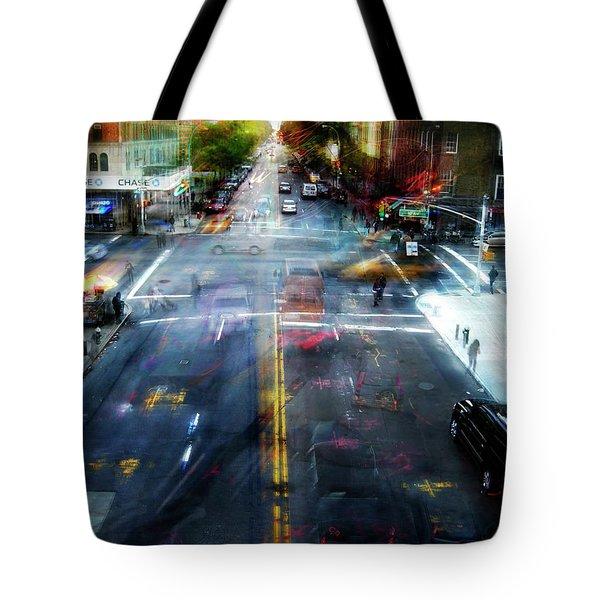 Cityscape 39 - Crossroads Tote Bag