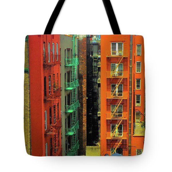 Cityscape Tote Bag