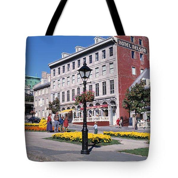 Cityscape Montreal Quebec Canada Tote Bag
