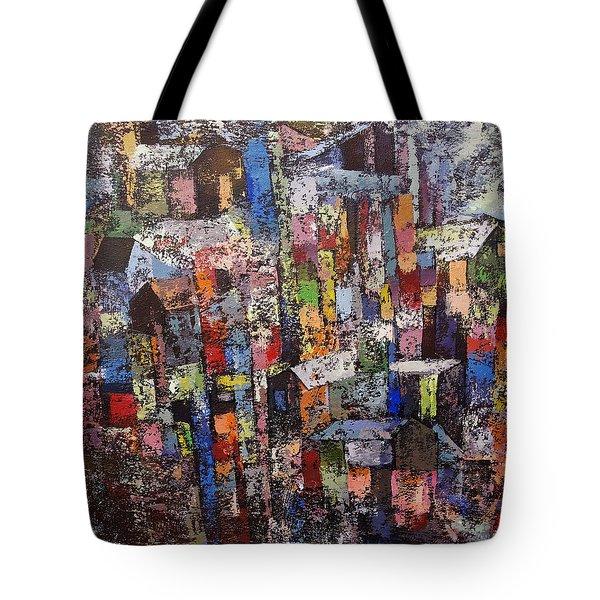 Cityscape2 Tote Bag
