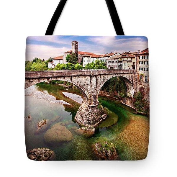 Tote Bag featuring the photograph Cividale Del Friuli - Italy by Barry O Carroll