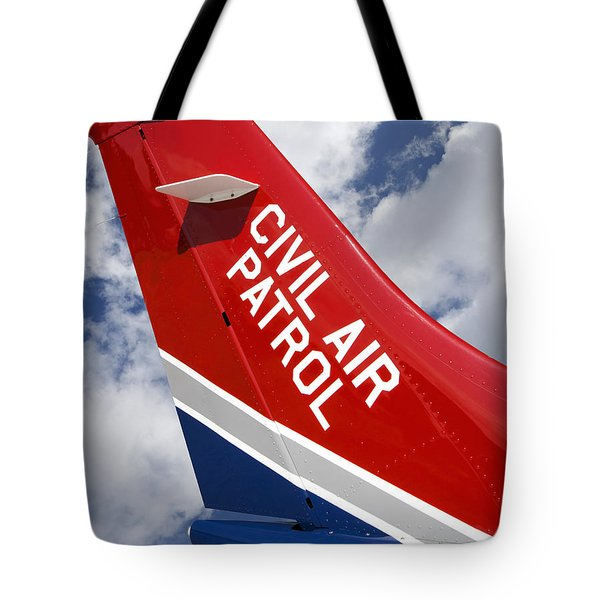 Civil Air Patrol Aircraft Tote Bag