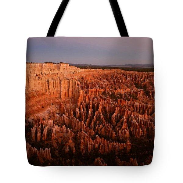 Civil Dawn At Bryce Canyon Tote Bag