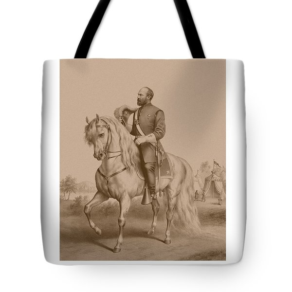 Civil War General James Garfield Tote Bag