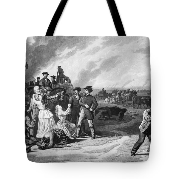 Civil War: Martial Law Tote Bag by Granger