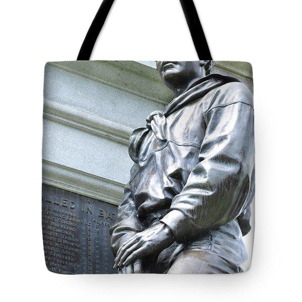 Civil War Memorial - Fitchburg, Ma Tote Bag