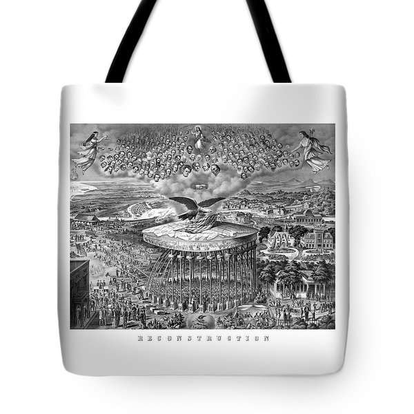 Civil War Reconstruction Tote Bag by War Is Hell Store