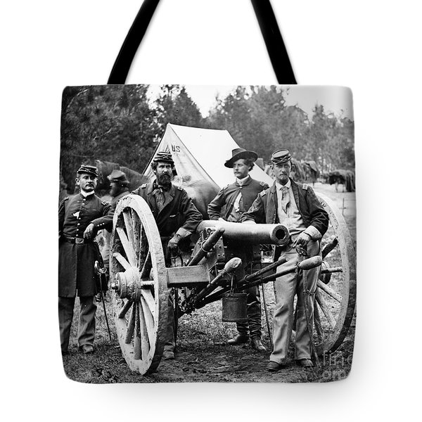 Civil War: Union Officers Tote Bag
