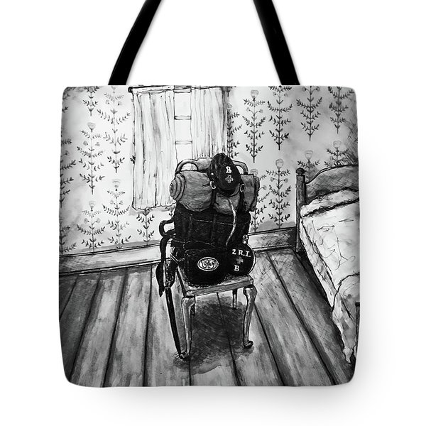 Rhode Island Civil War, Vacant Chair Tote Bag