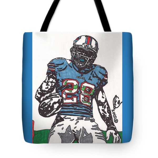 Cj Spiller 1 Tote Bag by Jeremiah Colley
