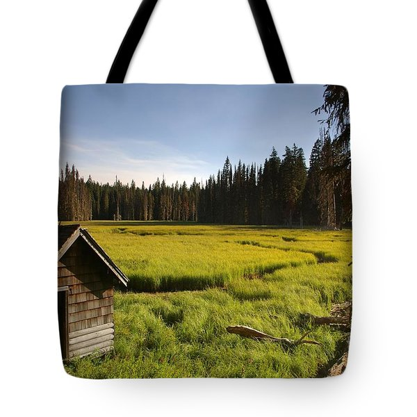 Clackamas Meadow Pump House- 2 Tote Bag